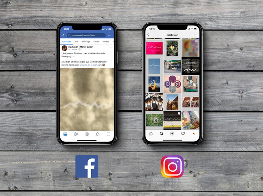 Martin Suiter m-art-v-sion München | Social Media Marketing Projekt | Facebook Instagram Blog Joomla Webseite | Passion Marketing GmbH Werbeagentur Köln