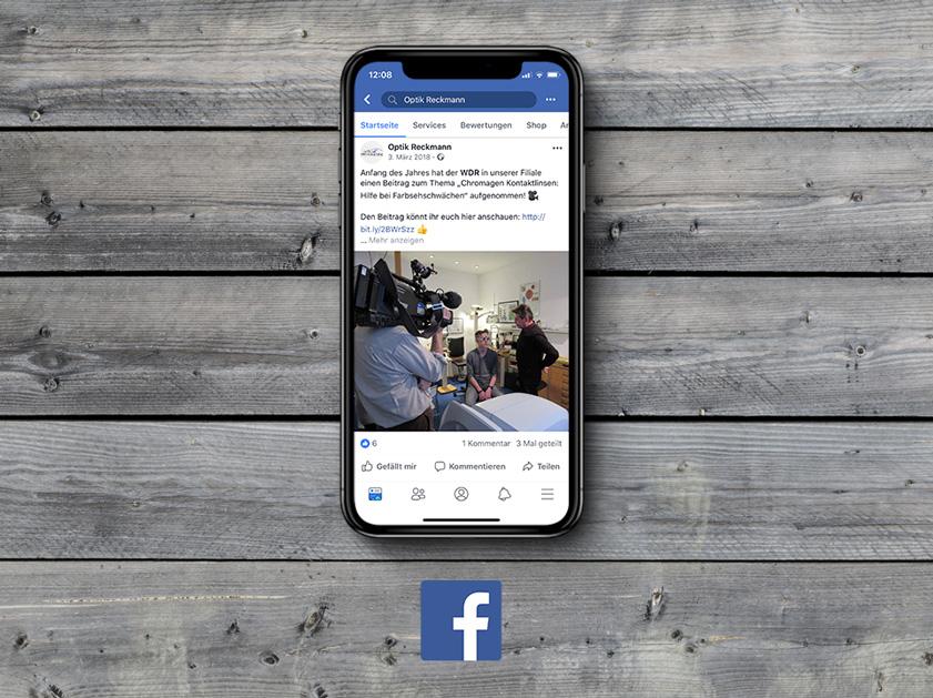 Optik Reckmann Leichlingen | Social Media Marketing Projekt | Facebook | Passion Marketing GmbH Werbeagentur Köln