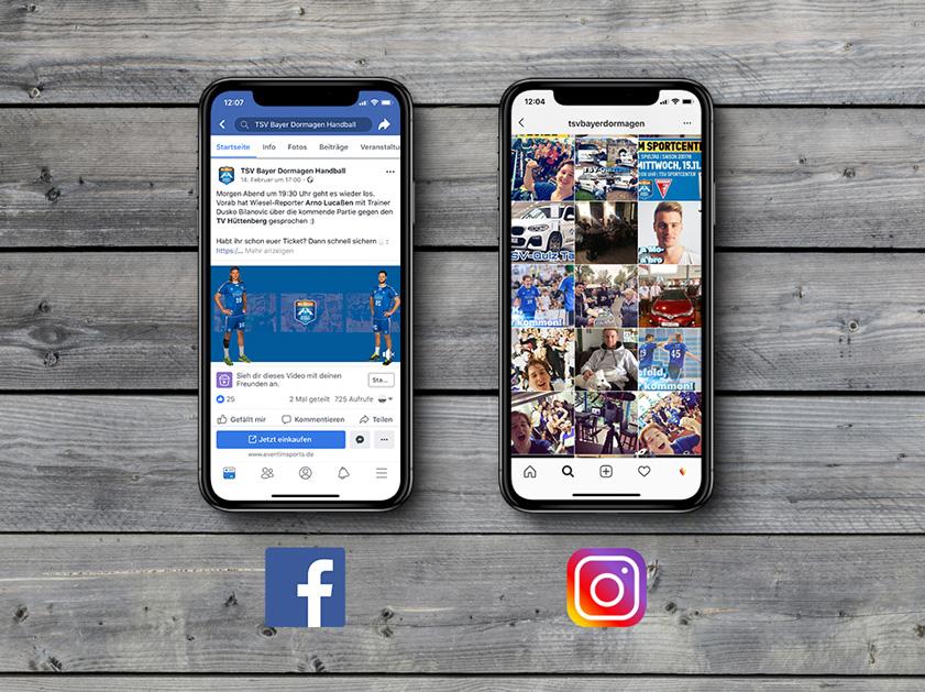 TSV Bayer Dormagen Handball Bundesliga | Social Media Marketing Projekt | Facebook Instagram | Passion Marketing GmbH Werbeagentur Köln